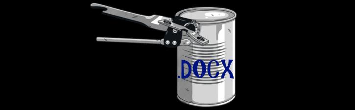 Ouvrir un fichier DOCX