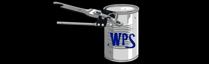Ouvrir un fichier WPS